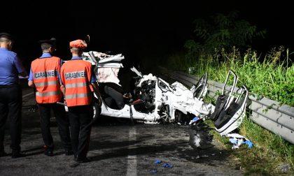 Scontro frontale con un furgone sulla Padana, morti due 28enni FOTO E VIDEO
