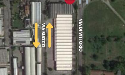 Segrate, apre il cantiere per la rotatoria di via Di Vittorio