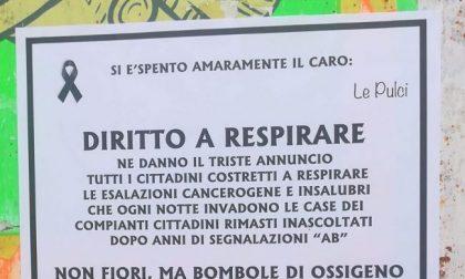 """""""Si è spento il diritto di respirare"""". Epigrafi a San Damiano sulle emissioni industriali"""