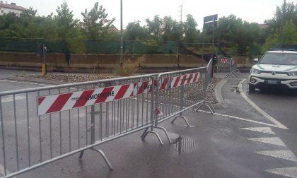 Danni da maltempo: strada chiusa (e non si sa quando riaprirà)