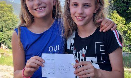 Un messaggio d'amore in volo per 250 chilometri, dalla Svizzera alle mani di una ragazzina di Cassina