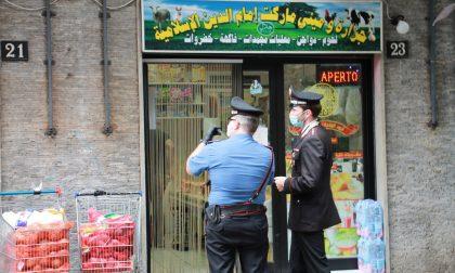 Controlli dei Carabinieri alle attività commerciali di Pioltello