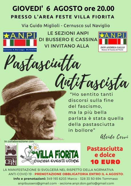 bussero pastasciutta antifascista