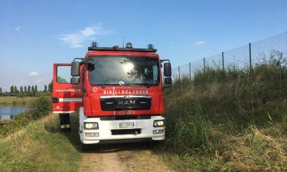 Incendio a Increa: raffica di chiamate ai pompieri, ma sono solo sterpaglie
