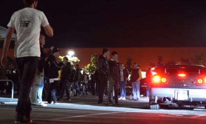 Raduno non autorizzato di auto truccate fermato da Carabinieri e Polizia Locale
