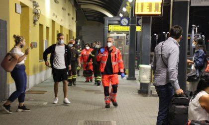 Bloccata in ascensore in stazione, arrivano ambulanza e pompieri