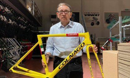"""La bici """"made in Martesana"""" vince il Tour de France. Prima volta storica per Colnago"""