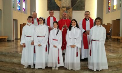 Messa di accoglienza di padre Giuseppe a Segrate FOTO
