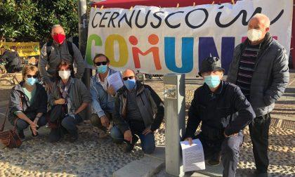 Presidio contro il trituratore a Cernusco FOTO