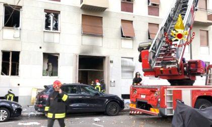 Esplode un palazzo a Milano: oltre 50 feriti FOTO