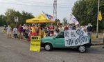 Trituratore, manifestazione a Bussero di Legambiente FOTO e VIDEO