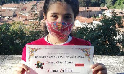 Scrive un racconto durante il lockdown, bambina di Masate vince un concorso letterario