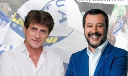 Matteo Salvini a Cologno per lanciare la volata ad Angelo Rocchi