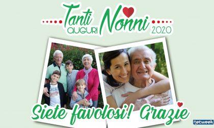 Tanti auguri nonni: ancora poche ore per fare un augurio speciale grazie al tuo settimanale!