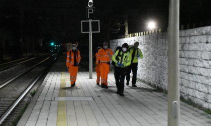 Travolto da un treno, muore 40enne FOTO