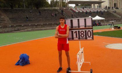 Brambilla vola a 1,80m. Vittoria e record sociale all'Arena Civica di Milano