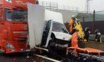 Scontro tra camion sulla Teem, c'è un morto