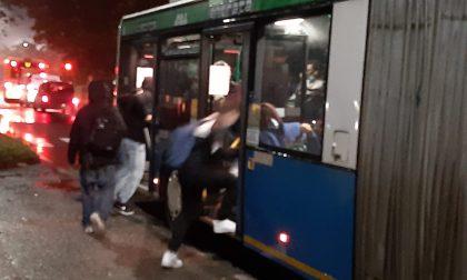 """Autobus strapieni a Vaprio. Gli studenti: """"Non ci sentiamo sicuri""""."""