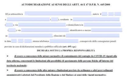 Autocertificazione Lombardia ottobre 2020: ecco il nuovo modulo da scaricare
