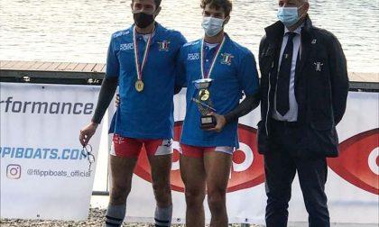 Il trezzese Simone Mantegazza vince il titolo tricolore under 23 nel due senza pesi leggeri