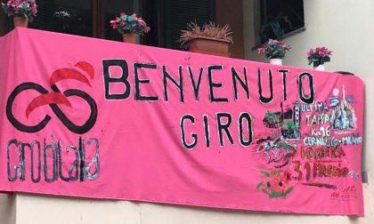 """""""Uno striscione per il Giro d'Italia e per ricordare papà morto per il Covid"""""""