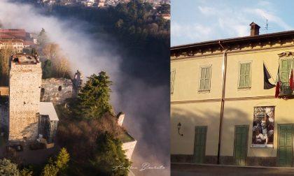 Due gioielli architettonici di Trezzo a rischio crollo