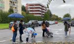Peschiera, proteste per le code al Centro vaccinale FOTO