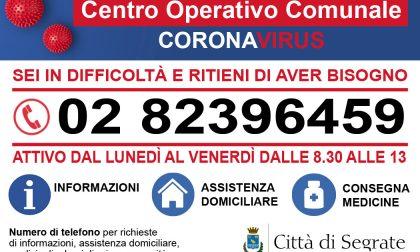 Covid, Segrate attiva un numero telefonico per i cittadini