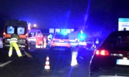 Incidente sulla A1, muore donna di 70 anni, ferita la figlia