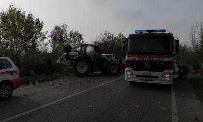 Incidente tra trattore e furgone sulla Sp103. Strada riaperta FOTO