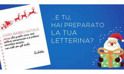 Scrivi anche tu a Babbo Natale, per ogni letterina un pasto donato a chi ha bisogno