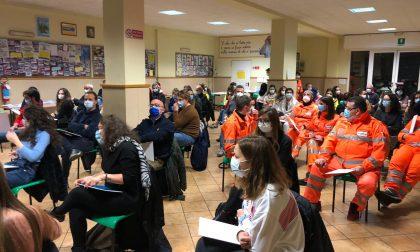 Più forti del Covid: i futuri volontari del 118 fanno l'esame in oratorio FOTO
