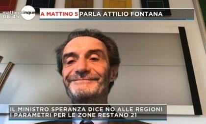 """Lombardia zona rossa fino al 27 novembre. Fontana: """"Abbiamo numeri da zona arancione"""""""