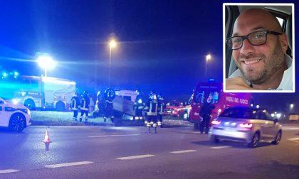 Si ribalta con l'auto, muore 36enne. Salvo il figlio di 5 anni che era a bordo con lui FOTO