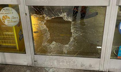 Ladro sfonda la vetrata del bar con una mazza: arrestato