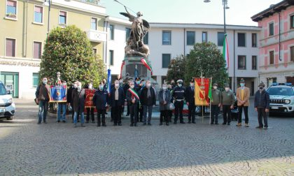 A Melzo la Festa dell'unità e delle Forze armate è per pochi intimi FOTO
