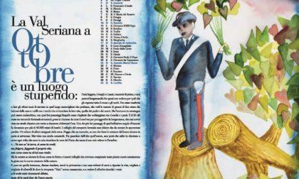 Calendario dei Carabinieri 2021, un omaggio a Dante, ma anche alla Val Seriana