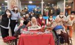 Centenarie festeggiate all'Rsa di Segrate