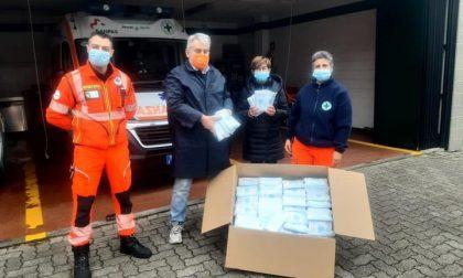 Cinquemila mascherine per la Croce Verde di Pioltello. Il dono del consigliere di Rodano