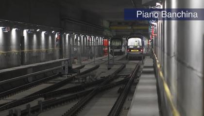M4: le prime immagini della stazione di Linate FOTO E VIDEO