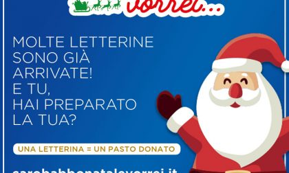 C'è tempo fino al 23 dicembre per donare un pasto caldo a chi ha bisogno. Invia la tua letterina a Babbo Natale
