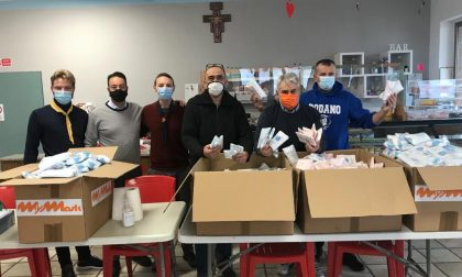 Quarantamila mascherine donate ai cittadini di Rodano