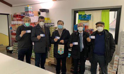 """Dal Rotary Martesana donazione """"natalizia"""" alla Caritas"""