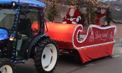 Babbo Natale arriva… in trattore FOTO