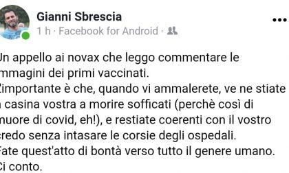 """Assessore contro i no Vax a Gorgonzola: """"Il sindaco deve rimuoverlo dal suo incarico"""""""