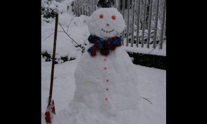La magia della neve fa tornare bambini… anche i Carabinieri