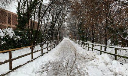 Cassano sotto la neve: i luoghi diventano magici e spettacolari FOTO