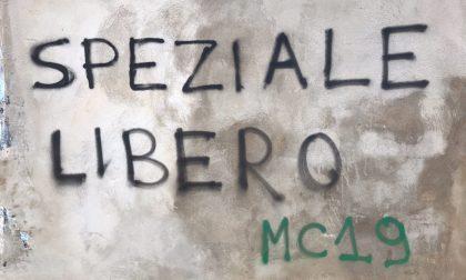 """Graffito degli ultras per l'assassino del poliziotto: """"Speziale libero"""""""