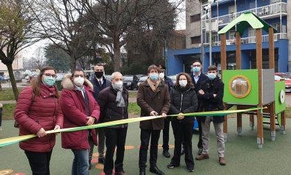 """""""Regalo di Natale"""" per i bimbi: inaugurato un nuovo parchetto a Cologno"""