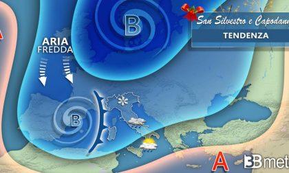 Previsioni 3BMeteo: a Capodanno una nuova perturbazione, ma niente neve (si spera)